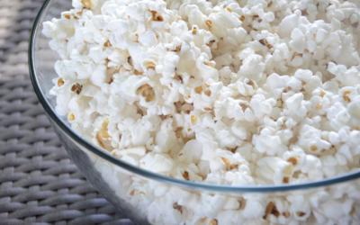 Dere får gratis kino og så kan dere bare hente dere en gratis popcorn også!